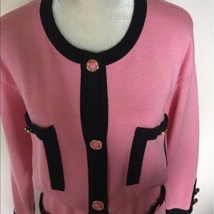 Escada Dresses - 💯 Authentic Vintage Escada Pink Dress 38 size M